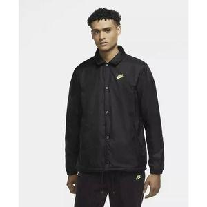 Nike Reversible Zebra Fleece Jacket Men Size Small